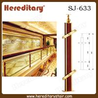 Cheap Indoor Stainless Steel and Wood Baluster for Club (SJ-633) for sale