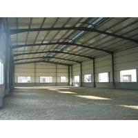 Cheap Q345 Grade Frame Fabrication Steel Structure Warehouse Convenient Assembly for sale
