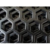 Standard Hexagonal Shape Decorative Perforated Stainless