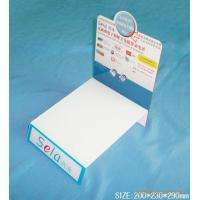 China Customized fashionable literature Acrylic Display Stands for travel agencies on sale