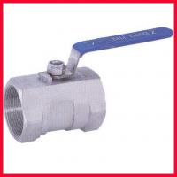 Cheap Side Entry Threaded Ball Valve , Forged Steel Soft Seated Ball Valve for sale