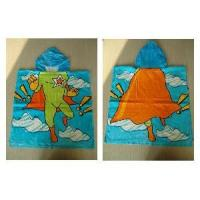 Children Poncho Towel with Hooded (FC-GCP7191)