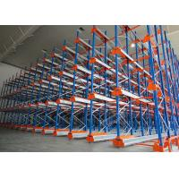 Cheap Semi Automatic Heavy Duty Storage Racks 50 Pallets Deep Shuttle Storage System wholesale