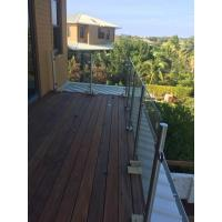Cheap Stainless Steel Post for Glass Railing/ Glass Balustrade Balcony Design for sale