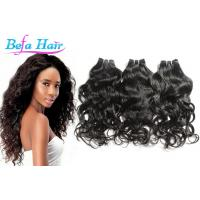 Cheap Tangle free Water Wave Grade 6A Virgin Hair 15 Inch Hair Extensions for sale