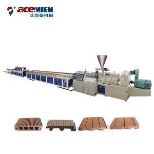 Cheap PE HDPE Door Floor Deck Profile Production Line PC WPC Plastic Wood Durable for sale
