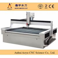 Cheap CNC gantry type water jet cutting machine with 3-Axis for sale