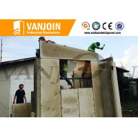 Quality Long Lifespan Modern Prefab House With Light Steel Structure And Sandwich Wall wholesale