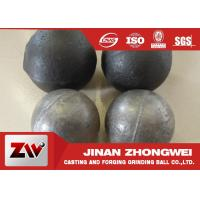 Cheap Cement plant use  forged and low chrome cast grinding ball / steel grinding balls for sale