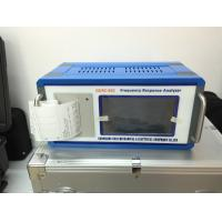 Frequency Response Analyzer : Gdrz power transformers fra frequency response