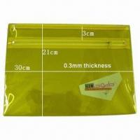 Cheap Document Bag, Made of PVC Material for sale