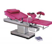Cheap Stainless Steel Frame Gynecology Exam Chair , Gynae Examination Table Adjusted Height for sale