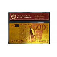 Quality Christmas Ornament Colorful 24K Gold Foil Banknote wholesale