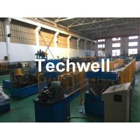 Cheap Steel Galvanized Ridge Cap Roll Forming Machine With Hydraulic Cutting For Making Roof Panels for sale