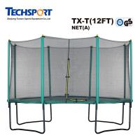 Cheap Round 12ft Bungee Jumping Trampolin With Enclosure
