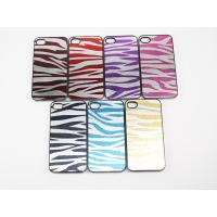 Cheap White stripe design stylish printing iPhone 4 protective summer hard case I4-057 for sale