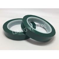 Buy cheap Flame Retardant Green Polyester Mylar Tape Pressure Adhesive Type from wholesalers