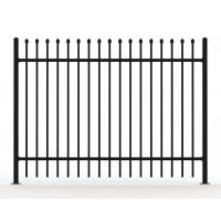 Cheap Australia Standard Steel Tubular Fence for Sale available 2 rail ,3 rails and 4 rails for sale