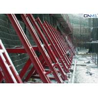 Cheap Convenient Concrete Retaining Wall Formwork Single Sided High Security for sale