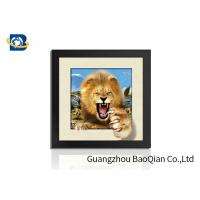 Cheap Animal 3D 5D Photography , Lenticular Image PrintingHome / Bedroom Wall Art Decor for sale