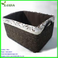 Cheap Dyed color handmade laundry box for sale