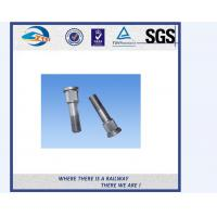 Cheap Plain / Black Anodize Hex Bolt And Nut / Train Bolt , Tensile Strength ≥800Mpa for sale