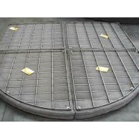 China Customize Stainless Steel Filter Wire Mesh Demister Pads For Absorbers / Scrubbers on sale