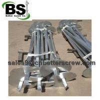 Cheap Square helical piers are used for stabilize the foundation for sale