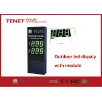 Cheap Green Outside Available Parking Display RS485 Module Quantity Customized for sale