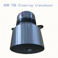 Buy cheap 60W 70K High Frequency Ultrasonic Cleaning Transducer and Sensor from wholesalers