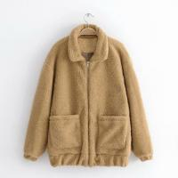 China Fashion lamb wool warm coat /Cashmere outer wear/customized lana overcoat on sale