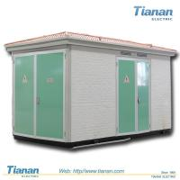 Cheap Prefabricated Compact Transformer Substation 12kv With 30 - 1250kva Capacity for sale