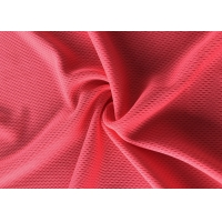 China Breathable Polyester Knitted Sports Mesh Fabric Bird Eye Mesh Fabric For T-shirt on sale