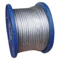Cheap Anti-Twisting Galvanized Steel Wire Rope For Yacht Rigging 1 x 19 for sale