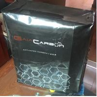 China Black Plastic Valve Bags With Printing And Anti - Slip For Packing Carbon Black on sale