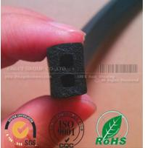 Cheap electrical cabinet black foam rubber strips for sale