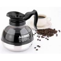 China Sunnex Steel Bottom Coffee Decanter Glass Kettle Stainless Steel Cookwares on sale