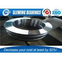 Thin Section Slewing Flange Mounted Bearings High Speed With None Gear