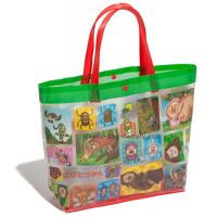 Cheap Cartoon Characters PVC Tote Bag Environmetal Friendly Material With Soft Handle for sale