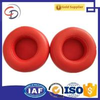 Buy cheap Free samples Replacement Black red White Protein leather Ear Pad Cushion Cups from wholesalers