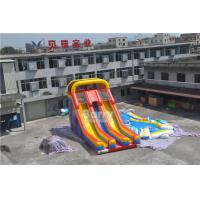Cheap ALI Commercial Inflatable Slide , double lane event inflatable dry slide for kids party for sale