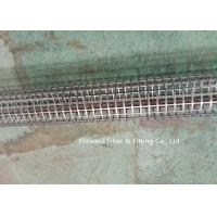 Cheap Stainless Steel Round Hole Tube / Square Hole Punching Porous Filter Tube Filter Skeleton Support Tube wholesale