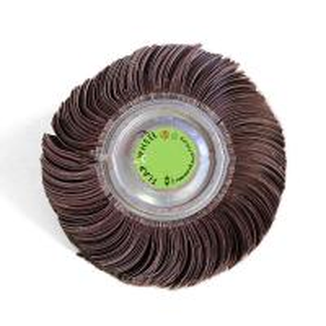 Cheap Abrasive Polishing Wheels , Zirconia Alumina Grinding Wheels For Metal Surface Finishing for sale