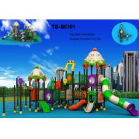 Cheap Automobile Style Large Scale Kids Outdoor Playground Equipment Long Using Life for sale