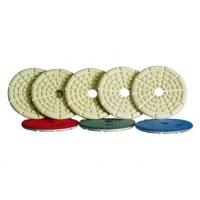 Cheap High Precision Angle Grinder Polishing Pad With Straight Or Curved Slots Face for sale
