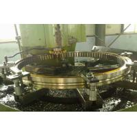 Cheap Alloy Steel Helical Ring Gear For Petroleum , Silver High Tolerance Ring Roll Forgings for sale