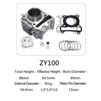 Cheap Yamaha Motorcycle Cylinder Repair Kit ZY100 For Yamaha Jog 100 Scooter for sale