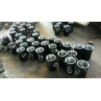 Cheap Seamless Reducing Tee Pipe Fitting High Pressure Black Steel Pipe Fittings for sale