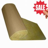 Cheap Glass Wool Insulation Blanket with Kraft Paper Facing for sale