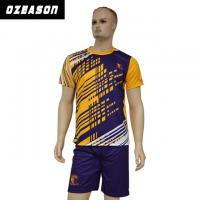 Cheap Custom Sublimated Anti-Shrink 100%Polyester Football Jersey for Adults & Kids for sale